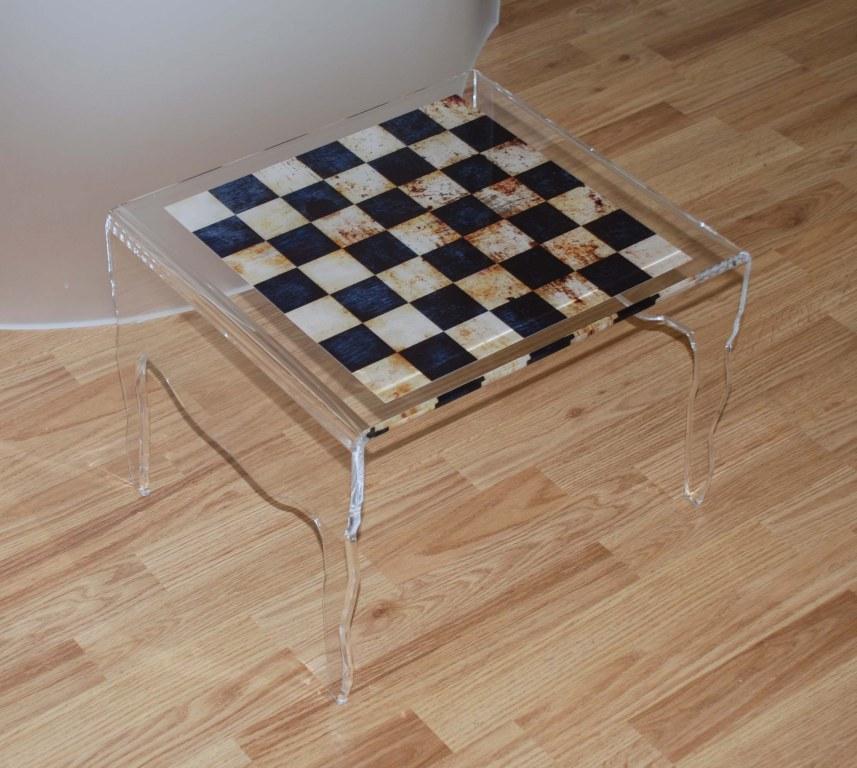 Free petite table basse en plexiglas with table de nuit - Fabriquer un valet de nuit ...